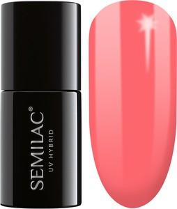 Semilac, lakier hybrydowy 033 pink doll
