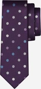 Krawat Wólczanka z jedwabiu