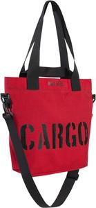 Czerwona torebka CARGO by OWEE na ramię w młodzieżowym stylu