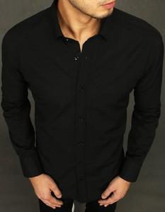 Czarna koszula Dstreet z bawełny