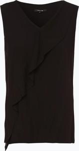 Bluzka Opus w stylu casual bez rękawów z żabotem