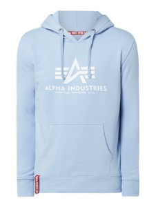 Niebieska bluza Alpha Industries