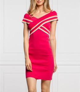 Sukienka My Twin z dekoltem w kształcie litery v