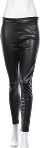 Spodnie Zara Trafaluc ze skóry