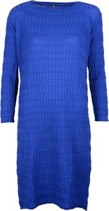 Niebieska sukienka liviana conti midi z dzianiny