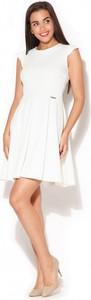 Sukienka Katrus trapezowa bez rękawów mini