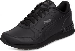 Buty sportowe Puma ze skóry ekologicznej sznurowane z płaską podeszwą