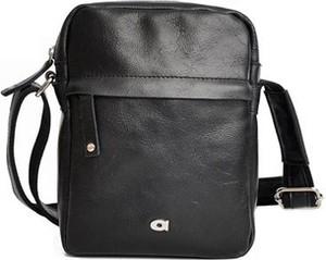 e317bf6b38704 czarna torba listonoszka - stylowo i modnie z Allani