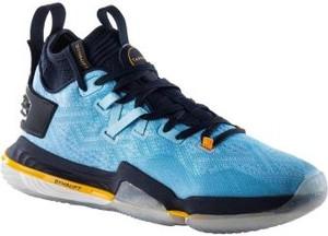Niebieskie buty sportowe Tarmak sznurowane