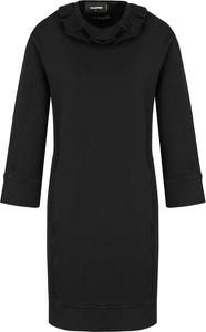 Sukienka Dsquared2 z długim rękawem mini w stylu casual