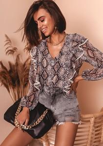 Granatowa koszula Latika