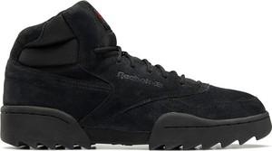 Czarne buty zimowe Reebok Fitness z nubuku
