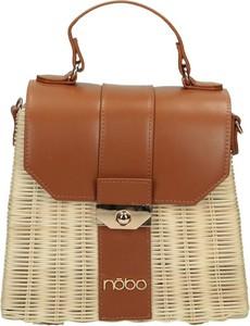 Brązowa torebka NOBO w wakacyjnym stylu średnia