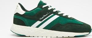Zielone buty sportowe Cropp w sportowym stylu sznurowane