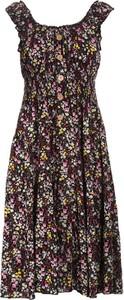 Sukienka Multu na ramiączkach z okrągłym dekoltem