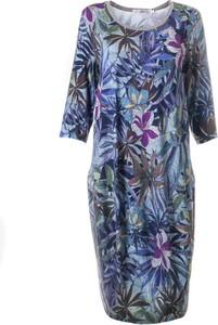 Sukienka Ab Nahlik w stylu casual bombka midi