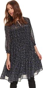 Sukienka Top Secret koszulowa z okrągłym dekoltem