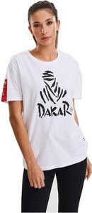T-shirt Dakar Collection z krótkim rękawem z bawełny