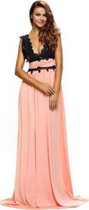 Sukienka Elegrina bez rękawów