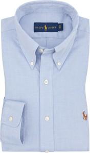Koszula POLO RALPH LAUREN z bawełny z kołnierzykiem button down
