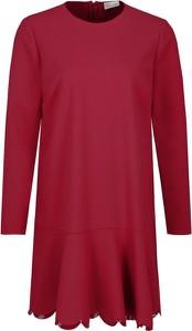 Sukienka Red Valentino w stylu casual z długim rękawem