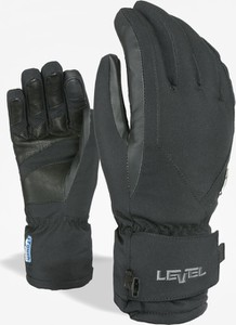 Rękawiczki Level w sportowym stylu ze skóry
