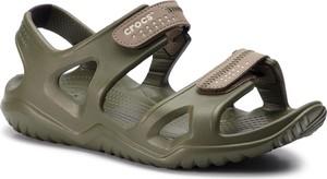 Buty letnie męskie Crocs na rzepy w stylu casual