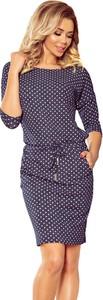 Sukienka NUMOCO w stylu casual ołówkowa mini