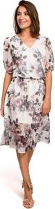 Sukienka Merg z szyfonu
