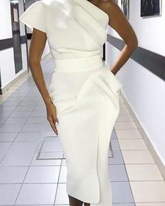 Sukienka Kendallme z bawełny z dekoltem w kształcie litery v bez rękawów