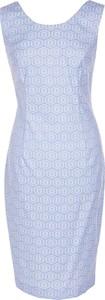 Sukienka Fokus z żakardu