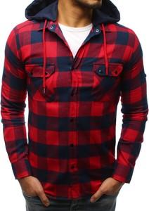 50faafe0167d6 koszule męskie z kapturem - stylowo i modnie z Allani