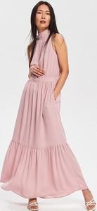 ba6041d0b9 Sukienka Reserved maxi w stylu casual bez rękawów