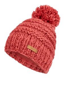 Różowa czapka Barts