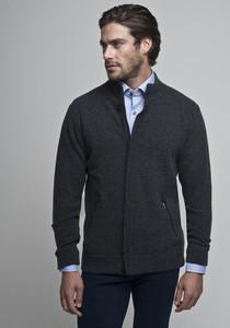 Czarny sweter Borgio w stylu casual