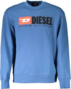 Niebieski sweter Diesel w młodzieżowym stylu