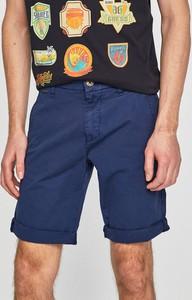 Granatowe spodenki Guess Jeans z bawełny