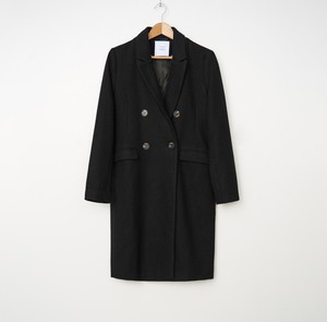 Czarny płaszcz House