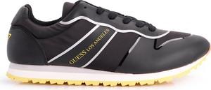 Buty sportowe Guess w sportowym stylu sznurowane