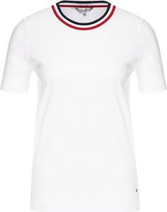 T-shirt Tommy Hilfiger z krótkim rękawem w stylu casual z okrągłym dekoltem