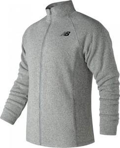Srebrna bluza New Balance w stylu casual