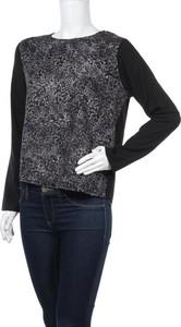 Czarna bluzka Lee Cooper z długim rękawem w stylu casual
