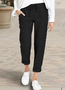 Czarne spodnie Sandbella z dresówki