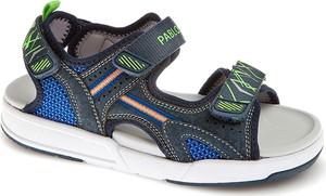 Buty dziecięce letnie Pablosky na rzepy ze skóry dla chłopców