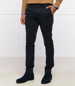Czarne chinosy Tommy Hilfiger w stylu casual