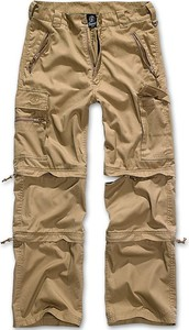 Brązowe spodnie Brandit