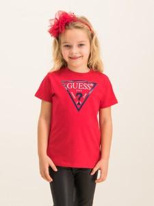 Czerwona koszulka dziecięca Guess