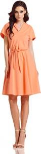 Sukienka Lemoniade z dekoltem w kształcie litery v z dresówki