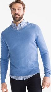 f6f3eeb7 sweter na koszule - stylowo i modnie z Allani