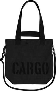 Czarna torebka CARGO by OWEE na ramię duża